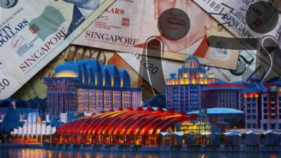 Casino fines in Singapore have increased more than tenfold in 2018-19.